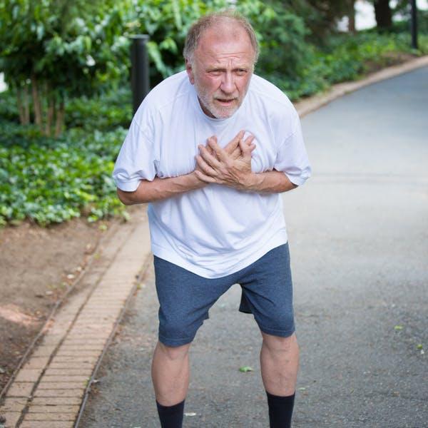 Är det farligt att träna hårt om man har dåligt hjärta?