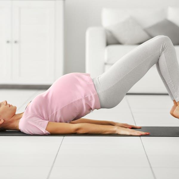 Kan jag träna under graviditeten?