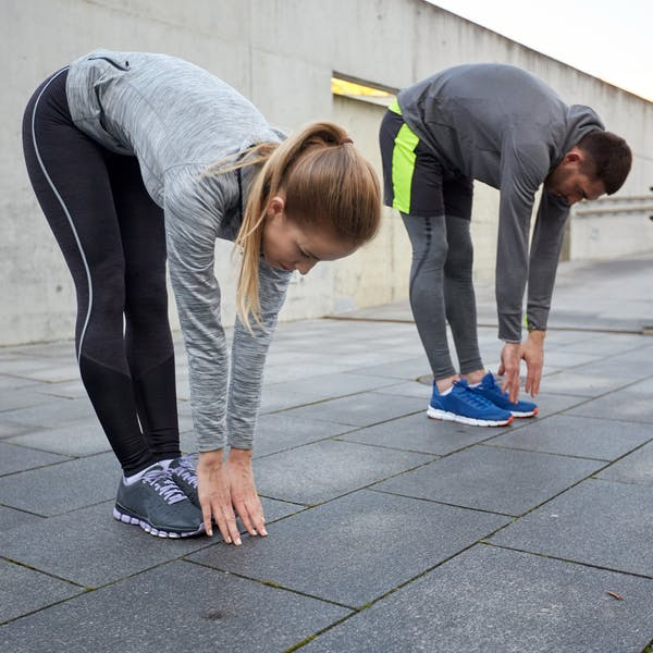 Stretching efter träning