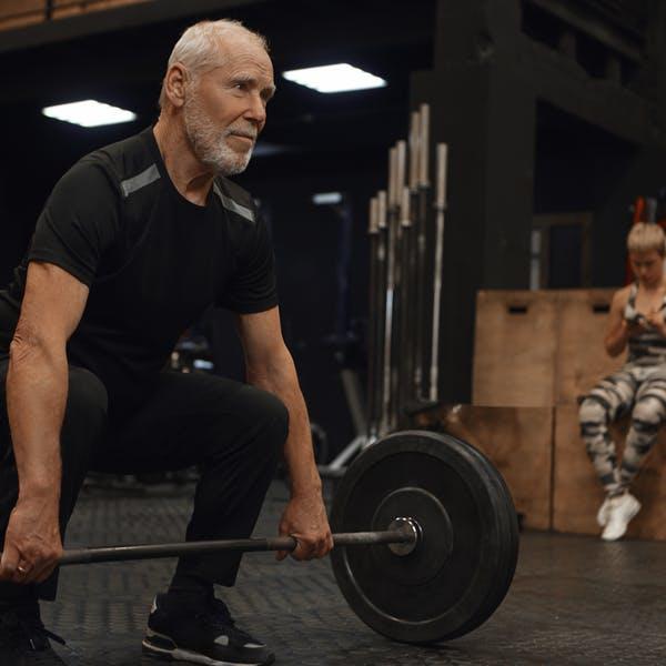Träning vs ålder