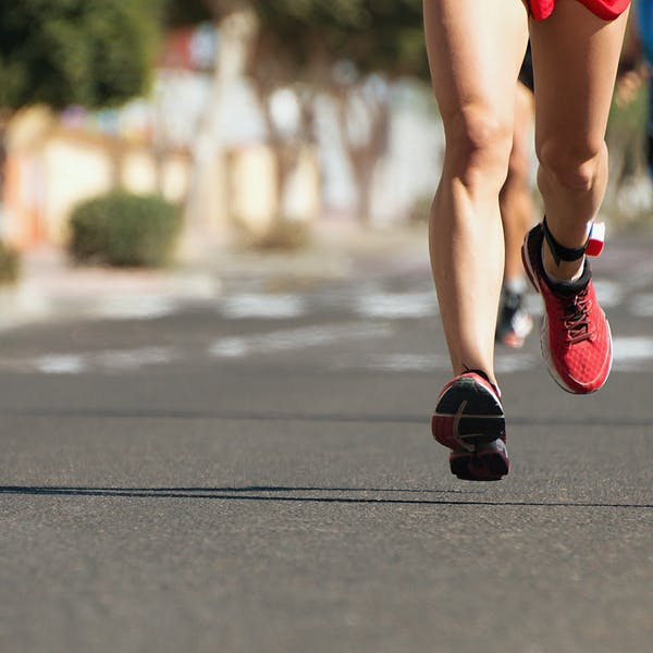 Två maratonrekord